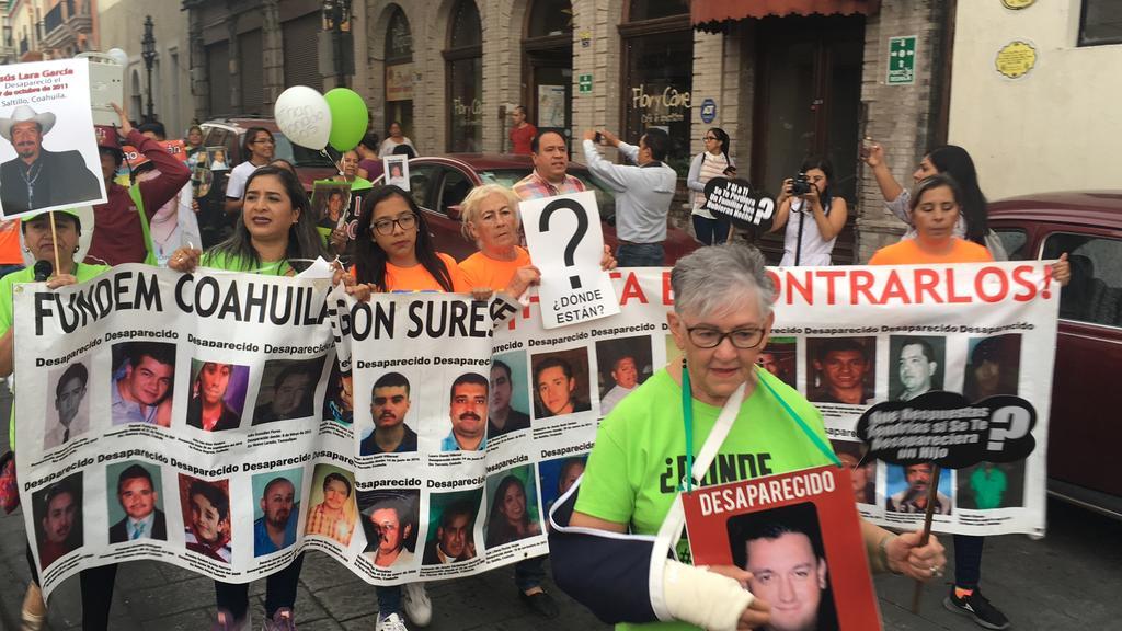 Denuncian robo de fotografía de exposición de desaparecidos en Saltillo. Noticias en tiempo real