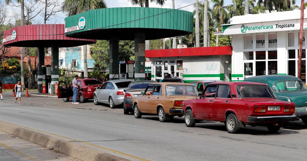 Interrumpen llegada de combustible a Cuba durante 5 días. Noticias en tiempo real