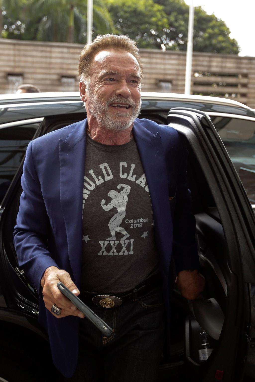 Arnold Schwarzenegger dice que Trump está enamorado de él