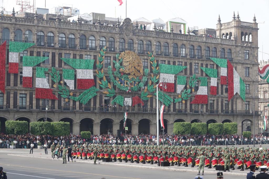 Inicia Desfile Militar por aniversario de la Independencia en CDMX. Noticias en tiempo real