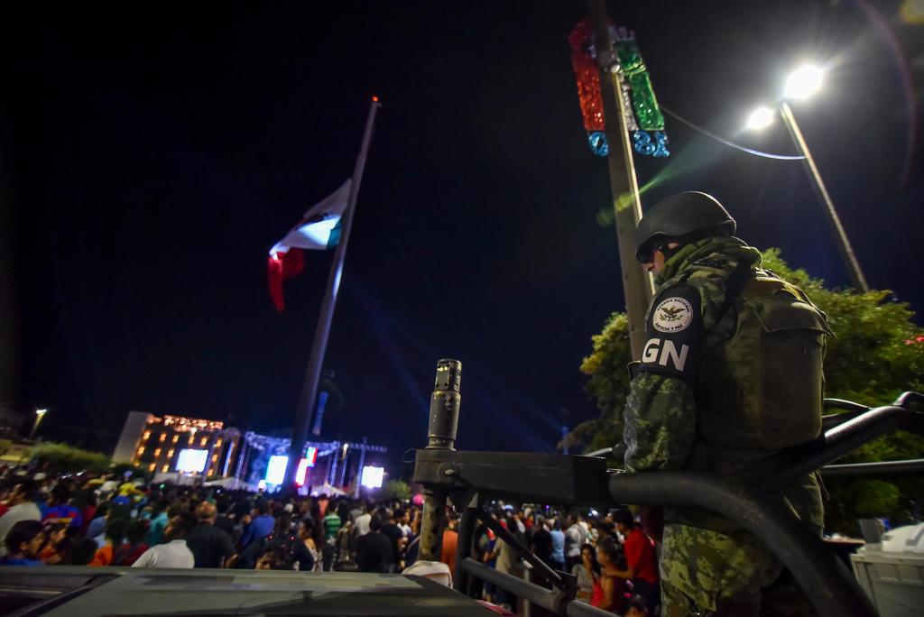 Celebraciones patrias en Torreón, sin incidentes. Noticias en tiempo real