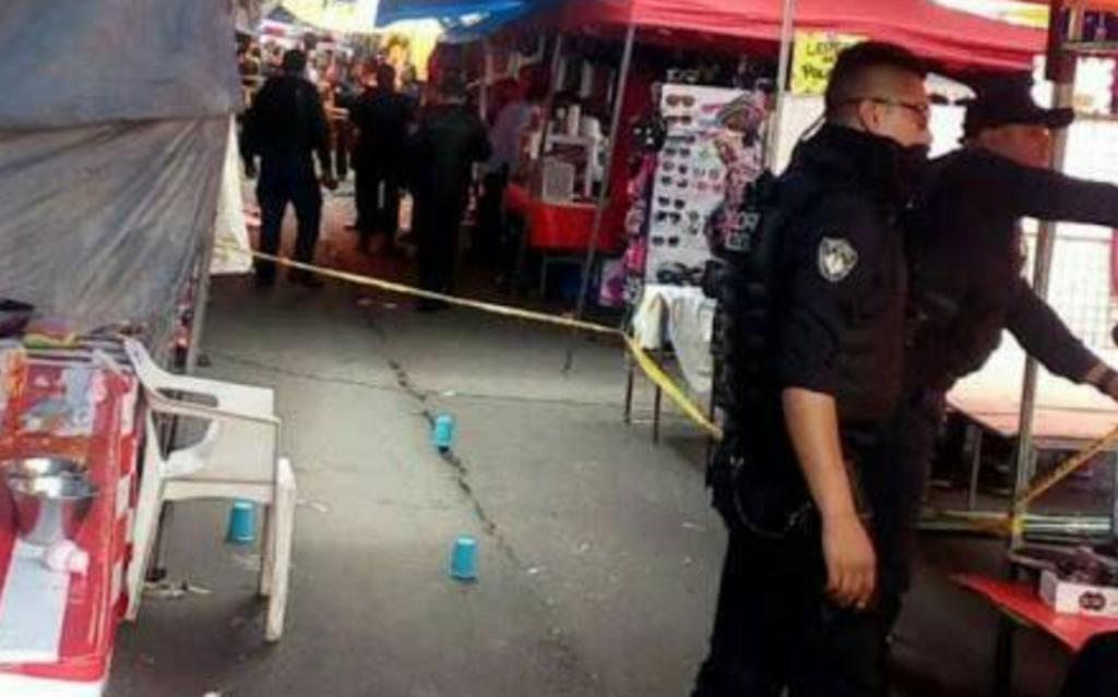 Asesinan a hombre en tianguis de Iztapalapa. Noticias en tiempo real