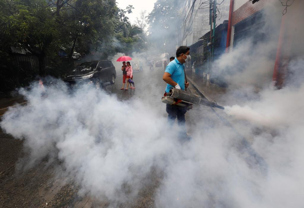 Suman más de mil 100 muertos por dengue en Filipinas. Noticias en tiempo real