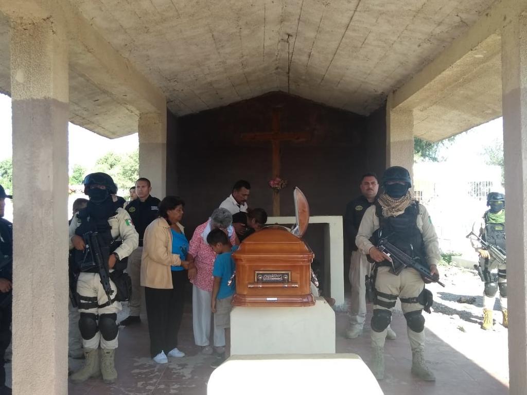 Realizan homenaje póstumo a elemento abatido de Fuerza Coahuila. Noticias en tiempo real