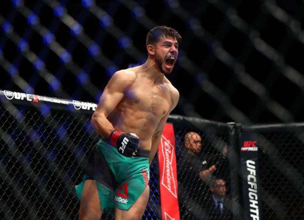 Pantera Rodríguez listo para la UFC Night. Noticias en tiempo real