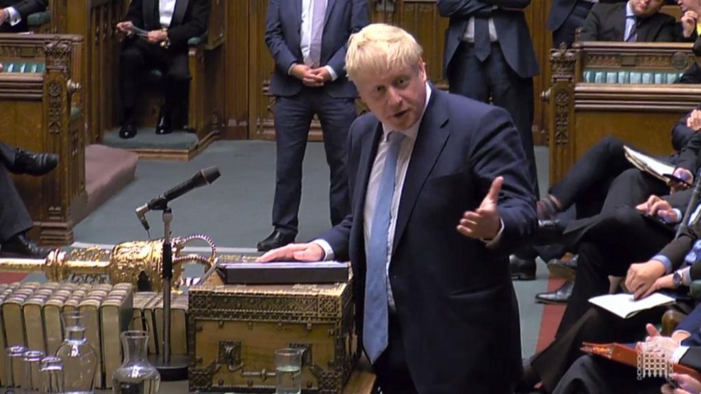 Johnson emplaza al Parlamento a decidir sobre el brexit el 19 de octubre. Noticias en tiempo real