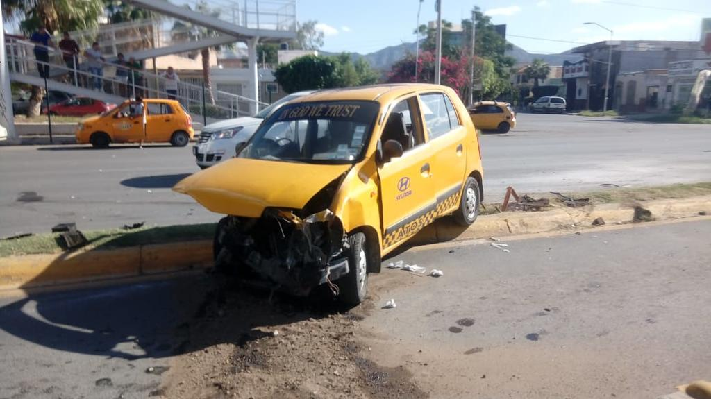Se registra fuerte accidente en el bulevar Independencia