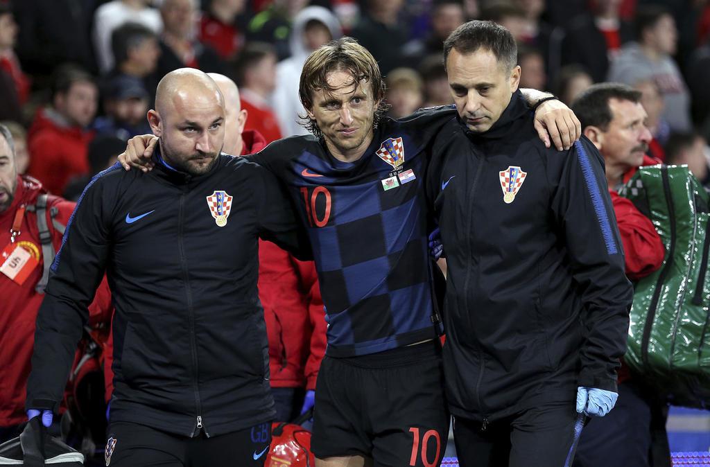 Modric y Bale regresan con el Real Madrid lesionados