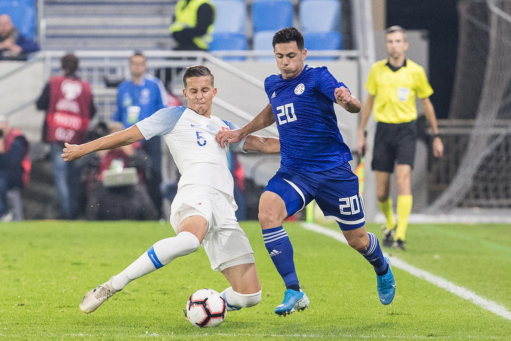 Paraguay empata ante Eslovaquia en amistoso internacional