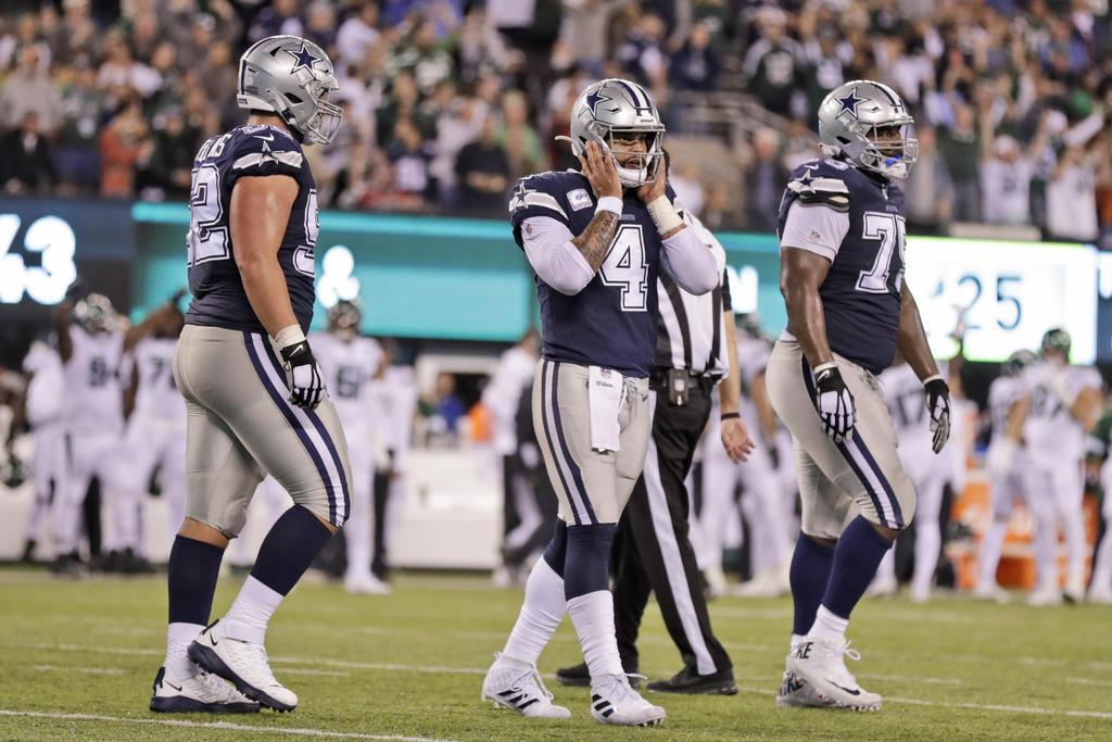 Dallas sufre su tercer derrota en la NFL