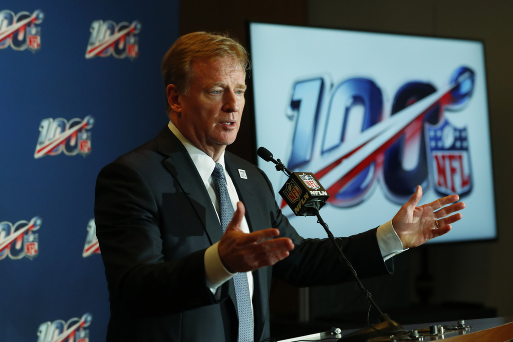 Roger Goodell, satisfecho con revisión de interferencias