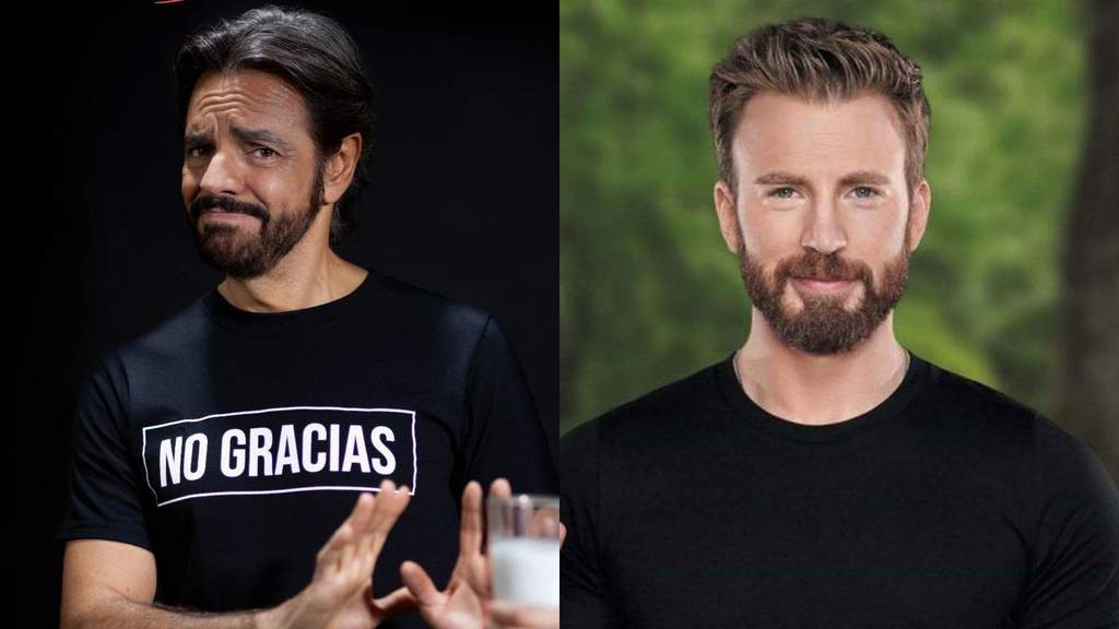 Comparan a Eugenio Derbez con Chris Evans