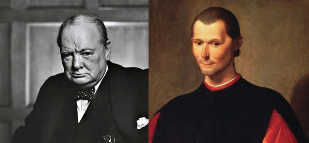 Las Frases De Churchill Y Maquiavelo Sobre Conflictos