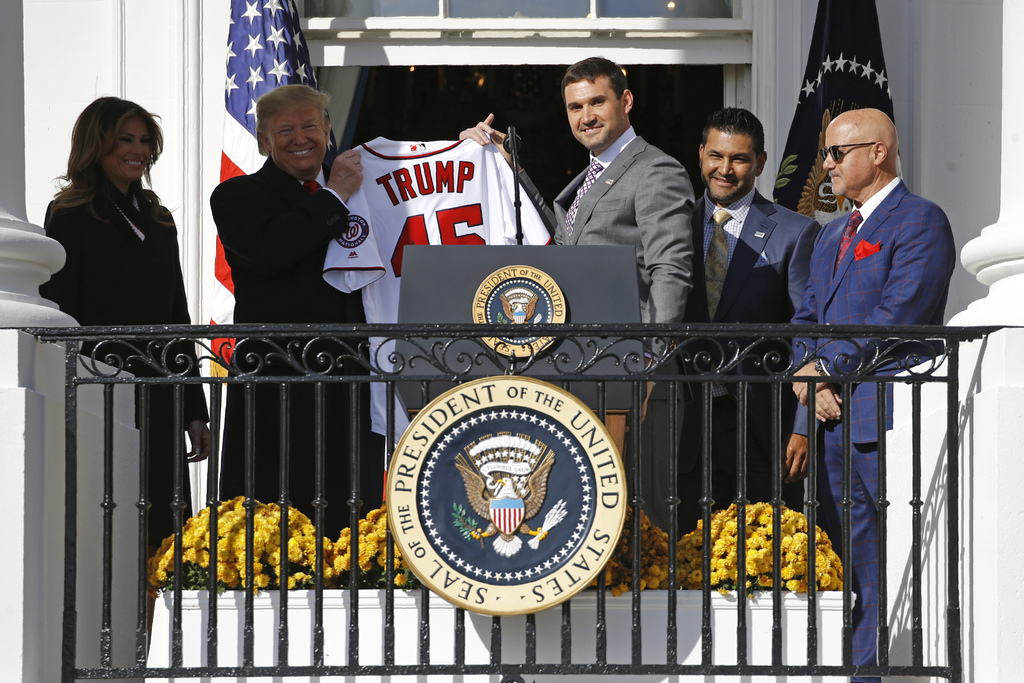 El primera base de los Nacionales de Washington, Ryan Zimmerman