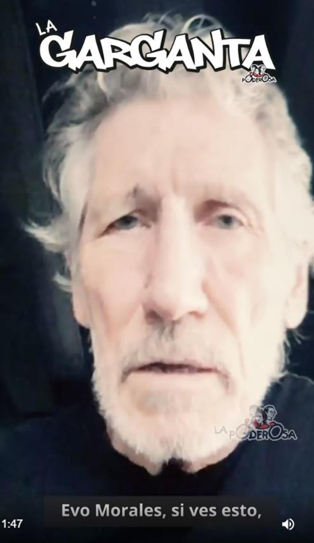 Roger Waters apoya a Evo Morales
