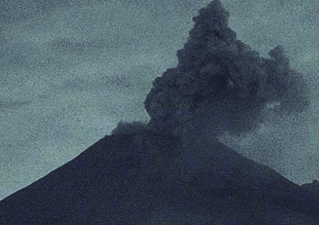 Así lució la activación del Popocatépetl de este miércoles. Noticias en tiempo real