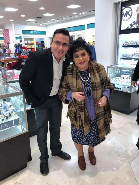 Carmen Salinas sorprende a laguneros en centro comercial - El Siglo de Torreón