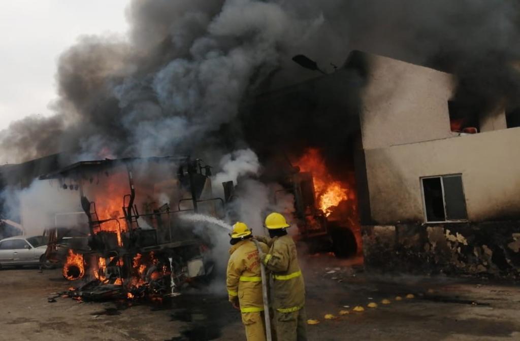 Se registra incendio en empresa del Parque Industrial de Gómez Palacio - El Siglo de Torreón