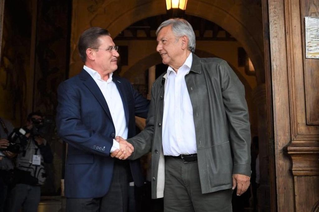 'Puntualito' llegó AMLO a Durango, dice gobernador Rosas Aispuro - El Siglo de Torreón
