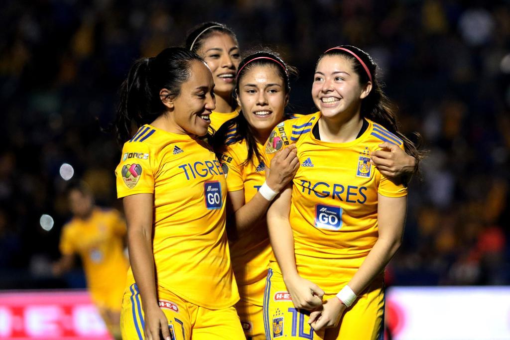 Listas las semifinales de la Liga MX Femenil