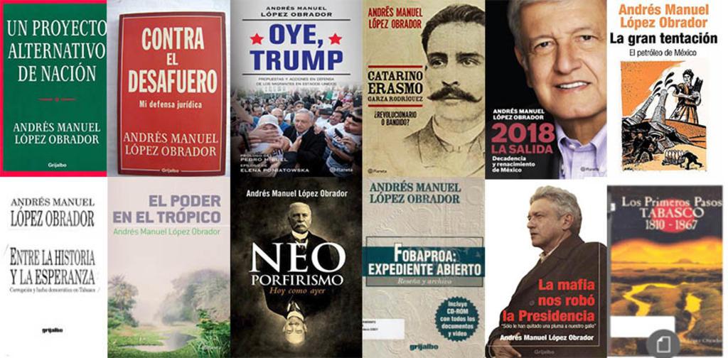 ¿Cuántos libros ha publicado AMLO?. Noticias en tiempo real
