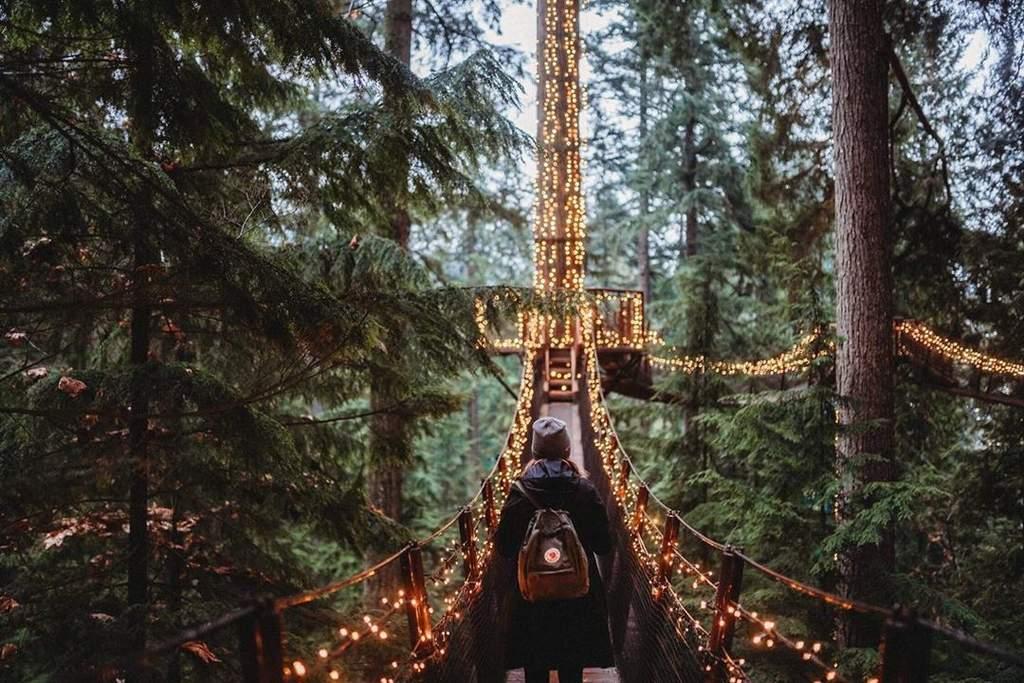 Conoce el puente colgante Capilano en Vancouver, El Siglo de Torreón