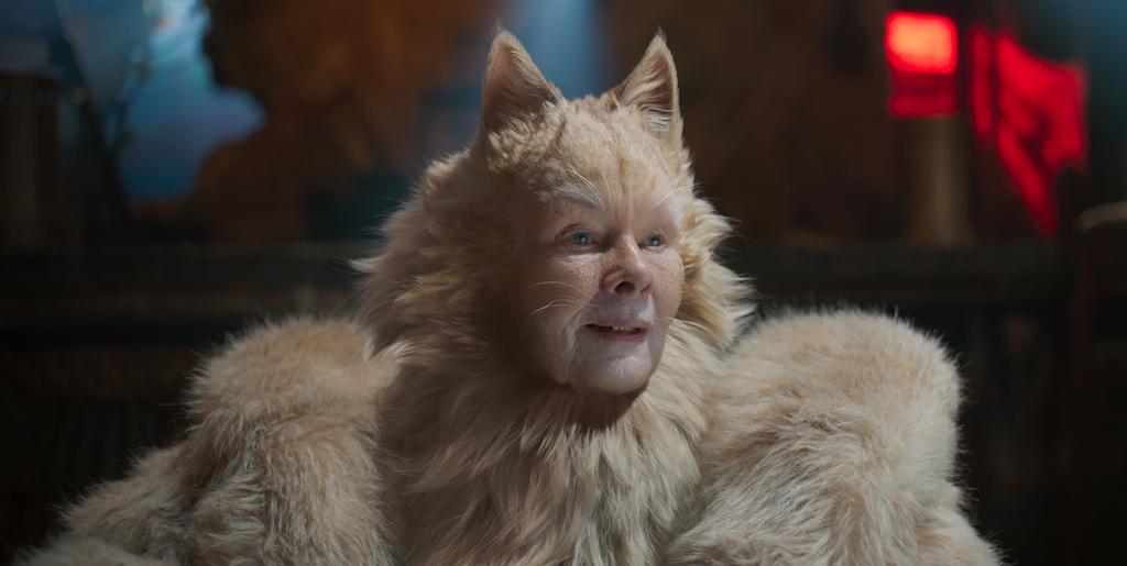 Judi Dench es el efecto especial en CATS