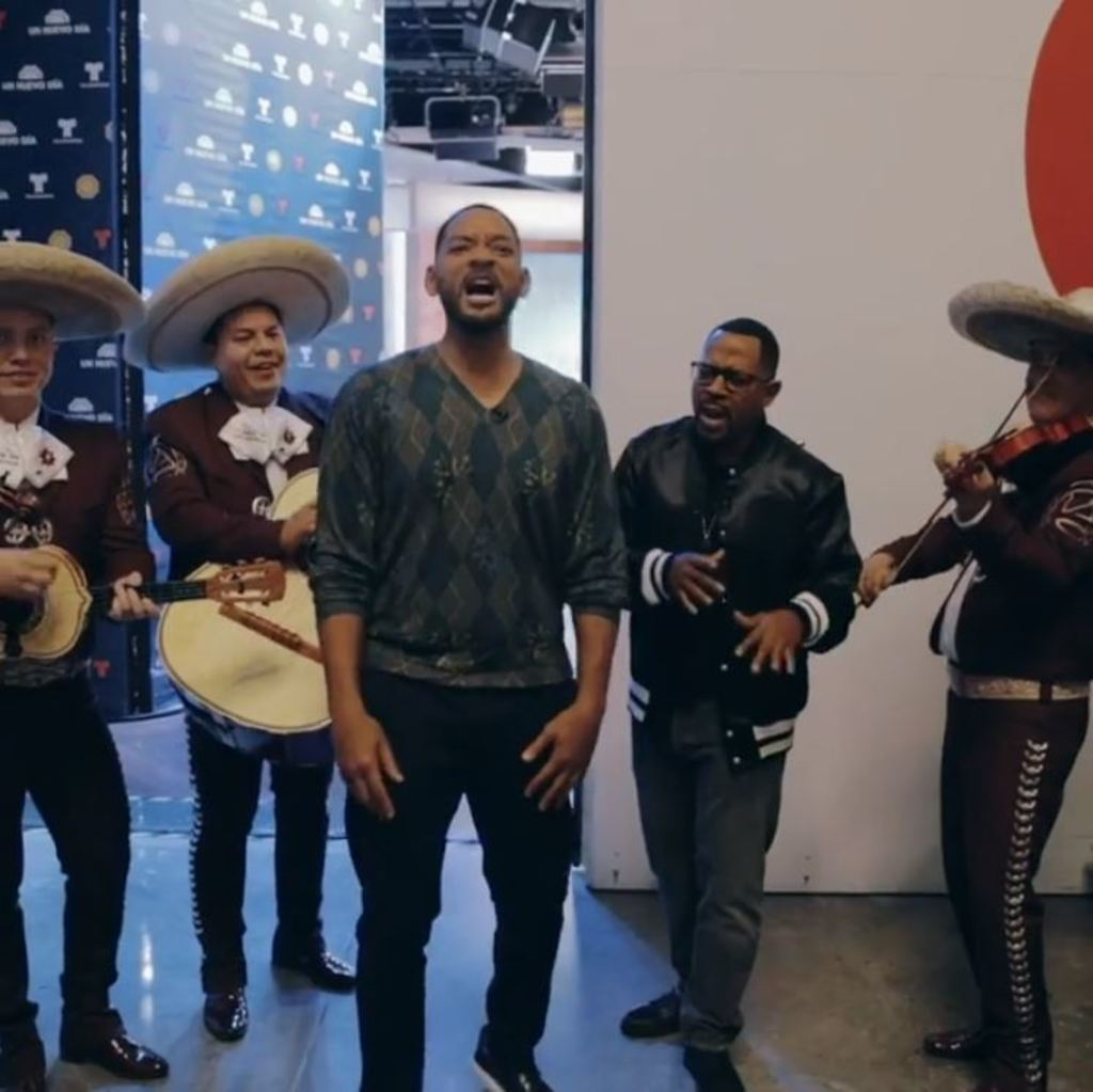Will Smith y Martin Lawrence no cantan mal las rancheras
