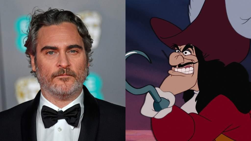 Resultado de imagen de Disney quiere a Joaquin Phoenix para interpretar al Capitán Garfio