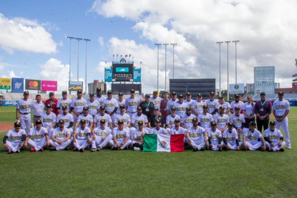 Con una sólida actuación del pitcher poblano Édgar Torres, México maniató a los sudamericanos. (ARCHIVO)