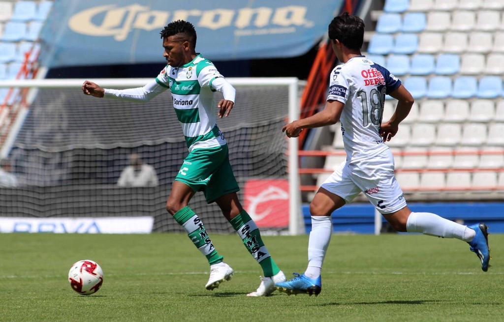 Anota Ayrton Preciado con la Sub-20 de Santos Laguna