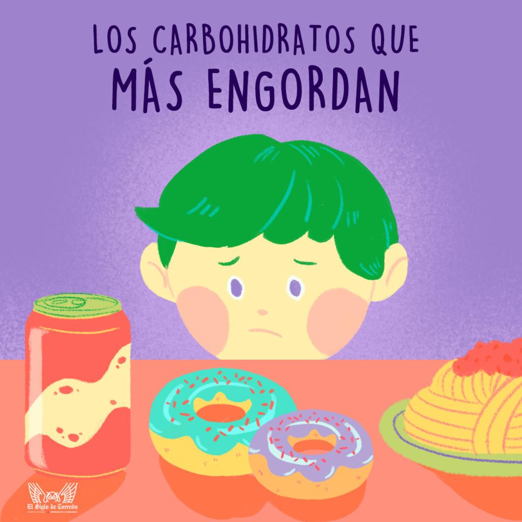 ¿Cuáles son los carbohidratos que más engordan?, El Siglo de Torreón