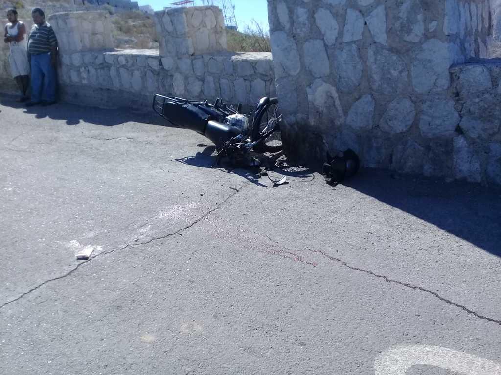 Sufre accidente en el Cristo de las Noas de Torreón