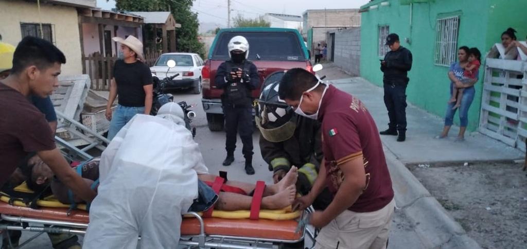 Hombre sufre descarga eléctrica en Francisco I. Madero