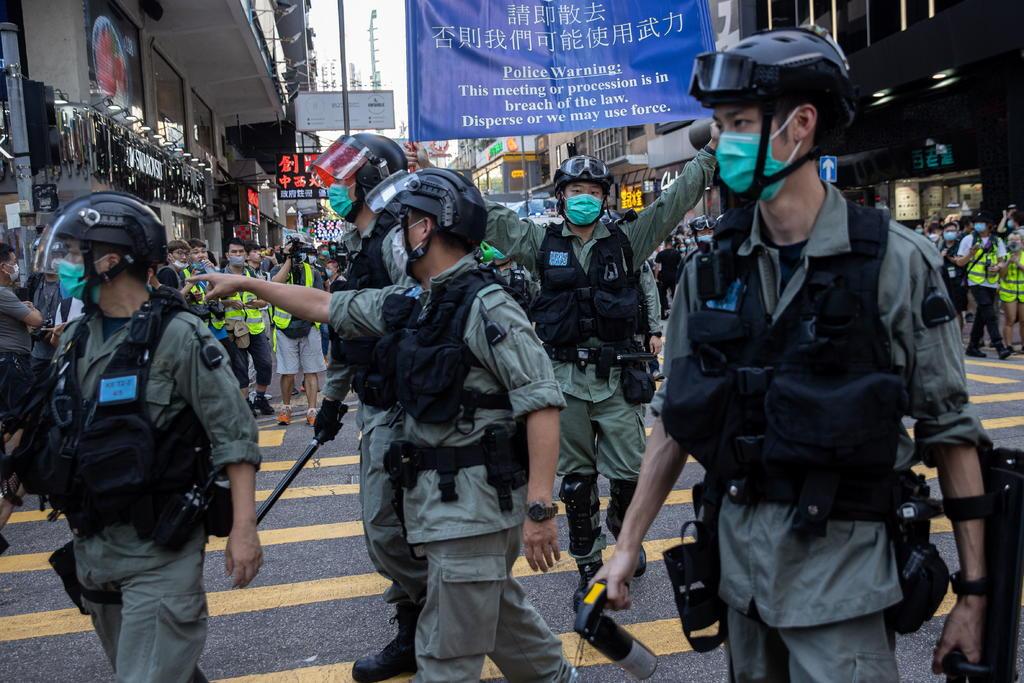 Ratifica China ley de seguridad de Hong Kong. Noticias en tiempo real