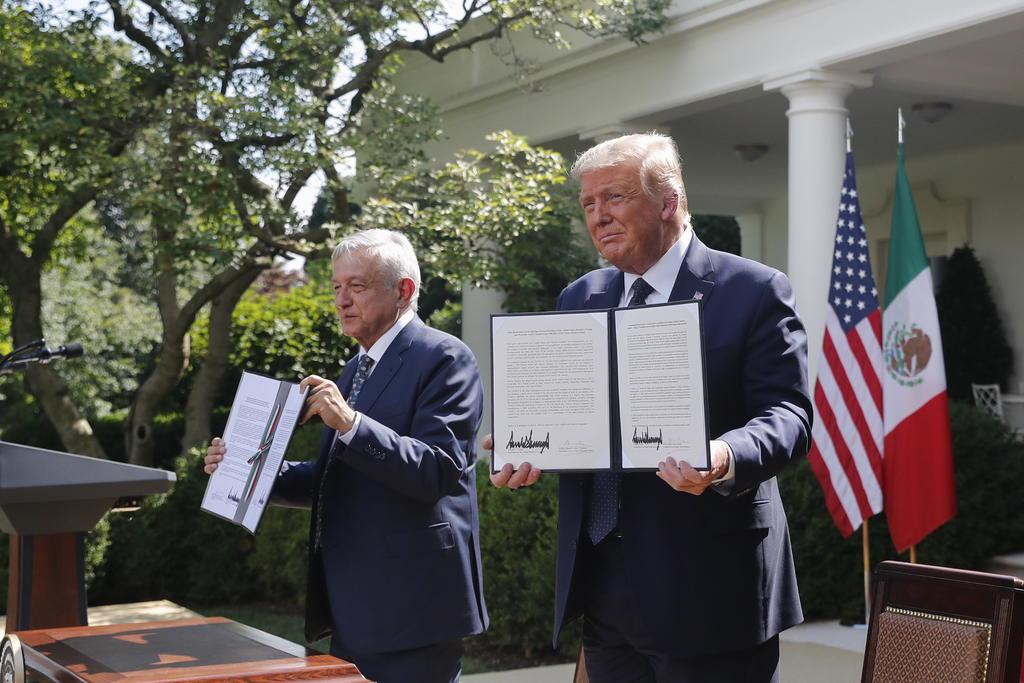 AMLO y Trump firman Declaración Conjunta por T-MEC, El Siglo de Torreón