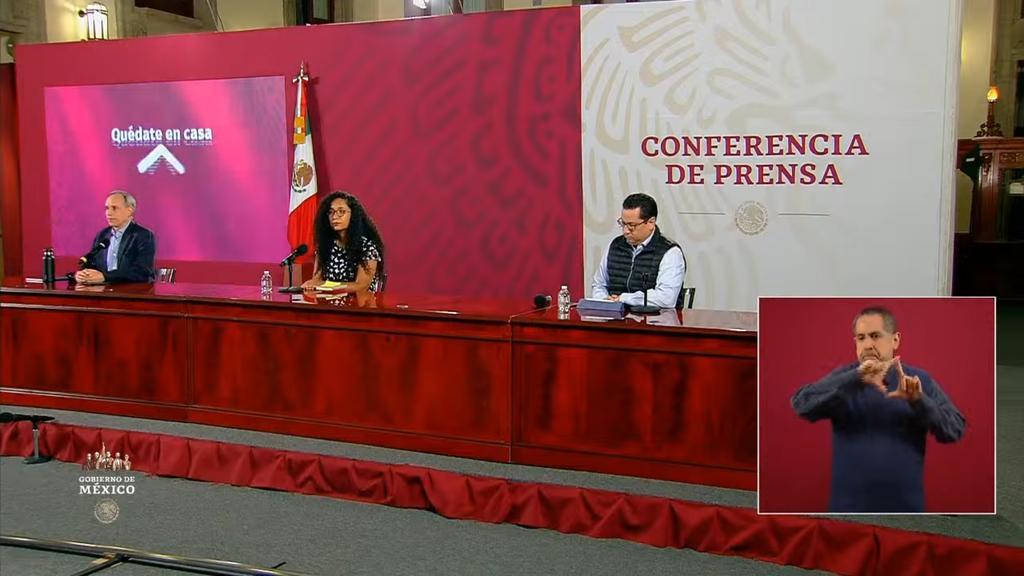 Suman 282 mil 283 casos positivos de COVID-19 en México