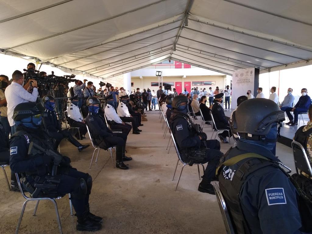 Inicia construcción de nuevas instalaciones de la Academia de Policía en Saltillo