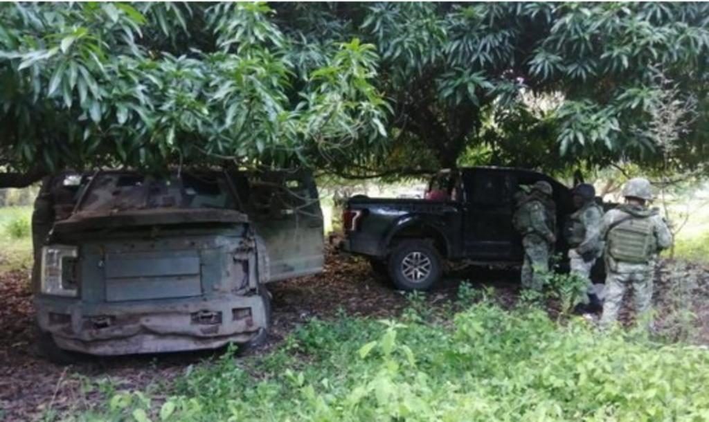 Incautan camionetas con blindaje artesanal y armamento en Michoacán. Noticias en tiempo real