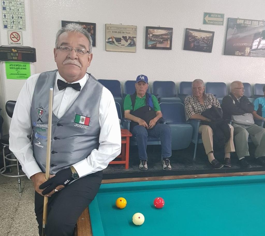 Lagunero Jorge Rodríguez va a nacional de carambola. Noticias en tiempo real