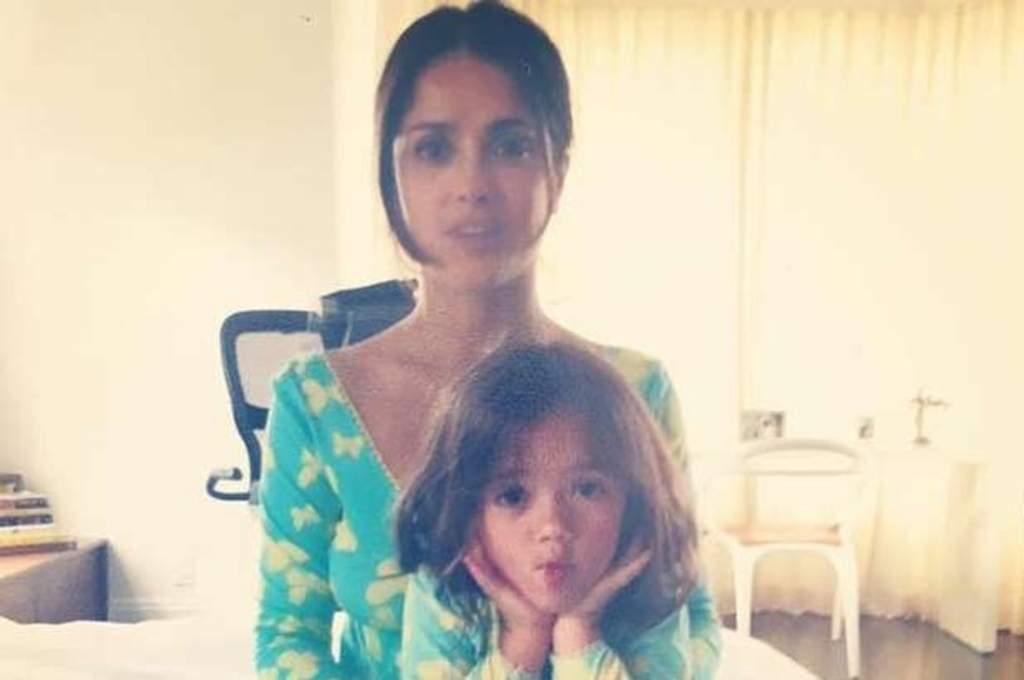 Salma Hayek comparte íntima foto con su hija por su cumpleaños. Noticias en tiempo real