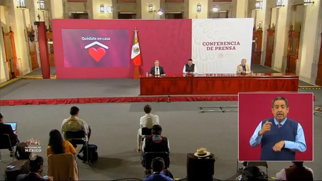 Reportan 74 mil 348 decesos por COVID-19 en México. Noticias en tiempo real