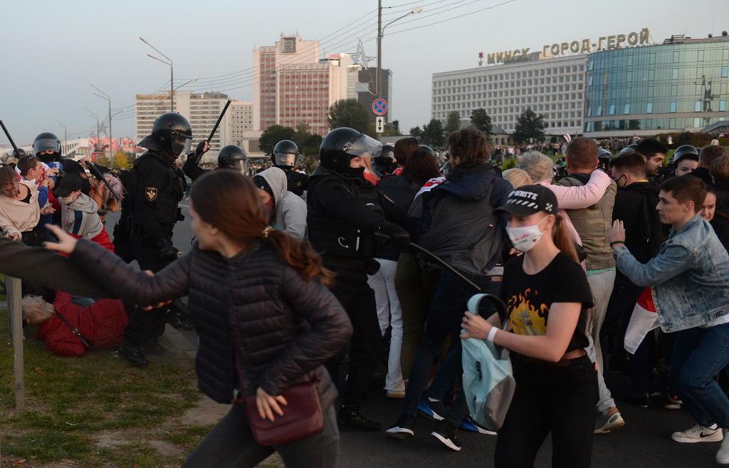 Protestan contra la investidura de Lukashenko en Bielorrusia. Noticias en tiempo real