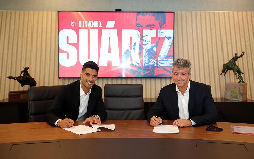 Luis Suárez firma por dos temporadas con el Atlético de Madrid. Noticias en tiempo real