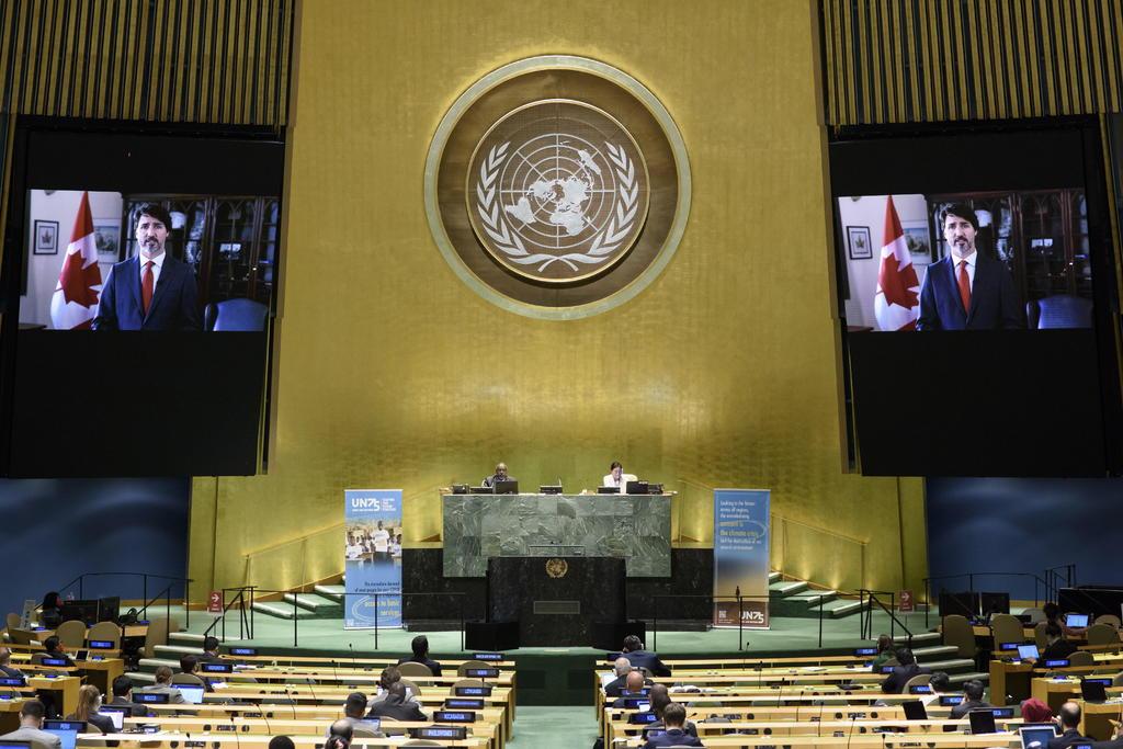 Trudeau pide en la ONU a actuar sin esperar a las grandes potencias. Noticias en tiempo real
