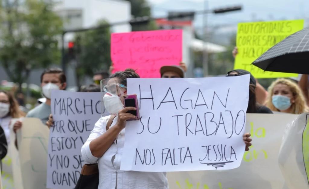 Realizan marcha en Morelia exigiendo justicia para Jessica. Noticias en tiempo real