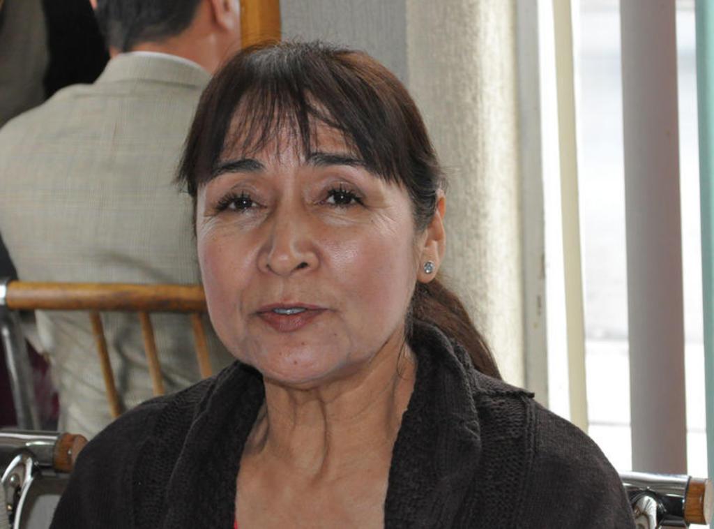 Nosotros apoyamos a nuestros candidatos elegidos: Hortensia Sánchez. Noticias en tiempo real