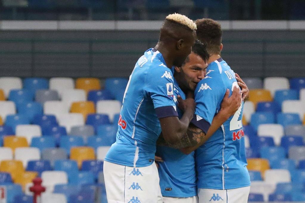 Chucky Lozano convierte su primer gol de la temporada con el Napoli. Noticias en tiempo real