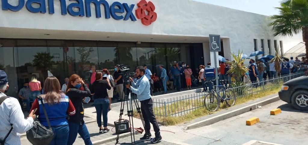 Vigilará Ayuntamiento de Monclova a banco. Noticias en tiempo real