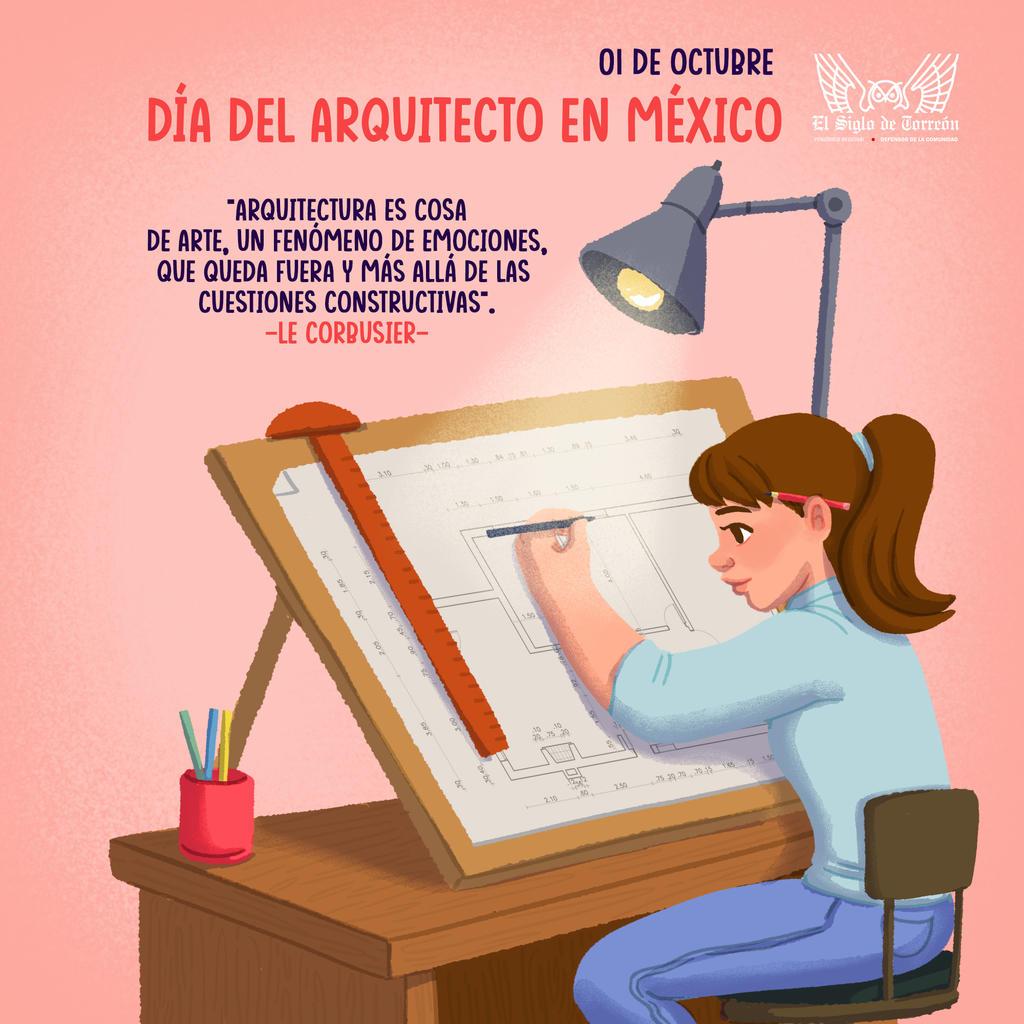 Hoy se celebra el Día del Arquitecto en México. Noticias en tiempo real